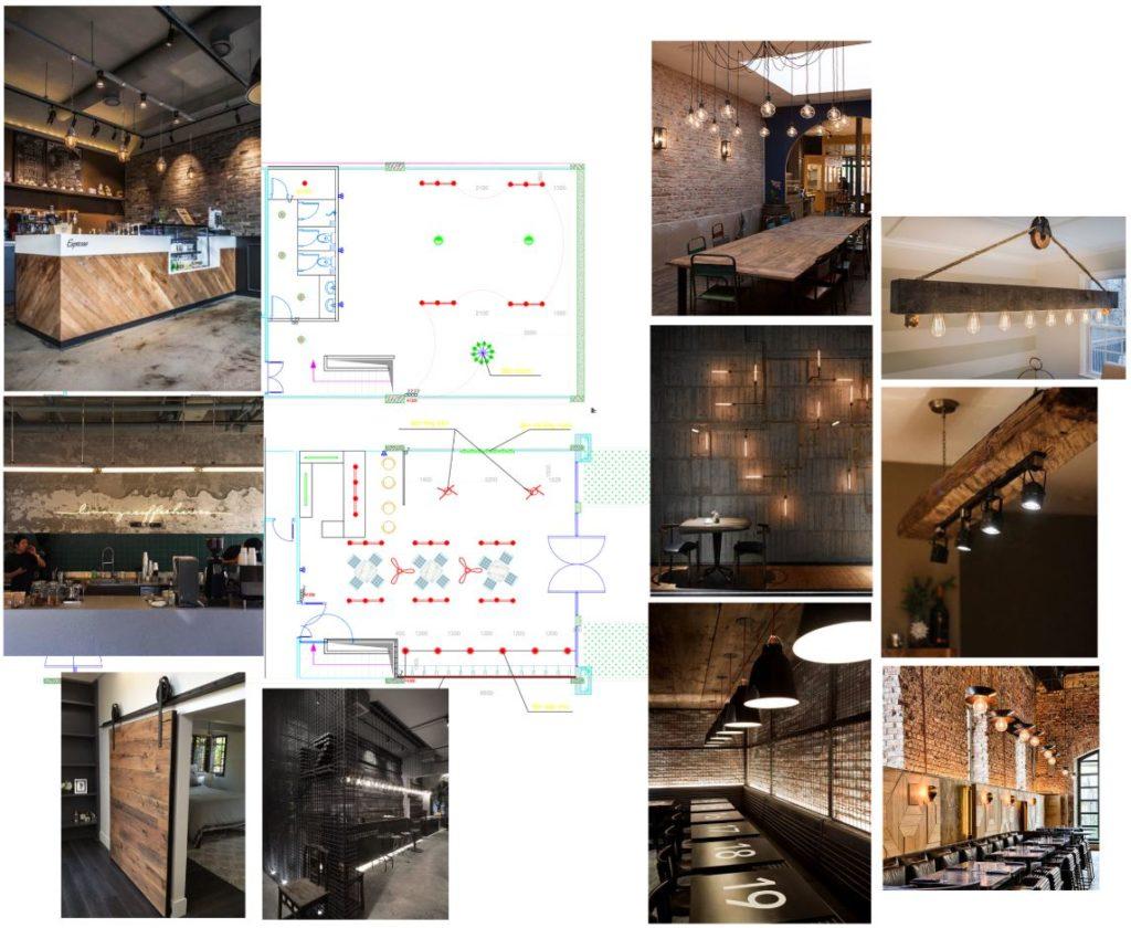 Bố trí mặt bằng và concept lên ý tưởng quán cafe Lake View