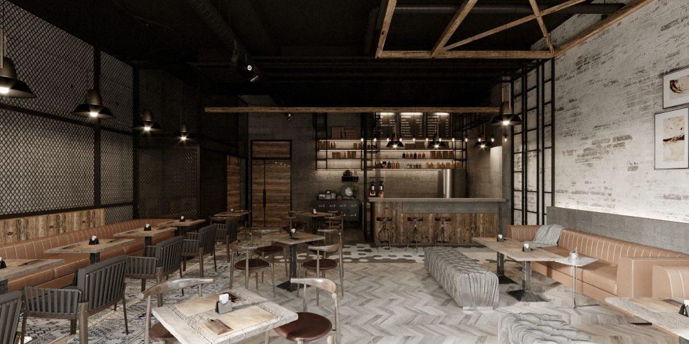 Thiết kế và thi công hoàn thiện cafe Lake View Thủ Thiêm